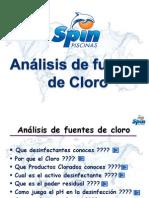 Análisis de Fuentes de Cloro Nvo Bis