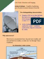 Radar Characteristics