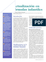 Actualización en Fórmulas Infantiles