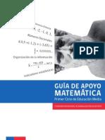 Guia Apoyo Matemática Primer Ciclo Ed Media