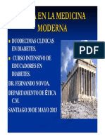 Etica en La Medicina Moderna
