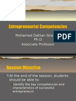 Entrepreneurial Competencies 2