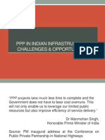 PPP in Indian Infrastructure - Challenges & Opportunities(1)