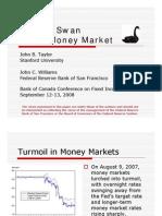 Money Market Black Swan