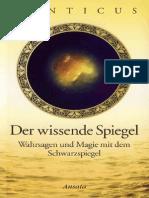 Der Wissende Spiegel Wahrsagen Und Magie