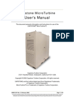 C30 C60 MicroTurbine Users Manual