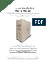 C30 C60 MicroTurbine Users Manual
