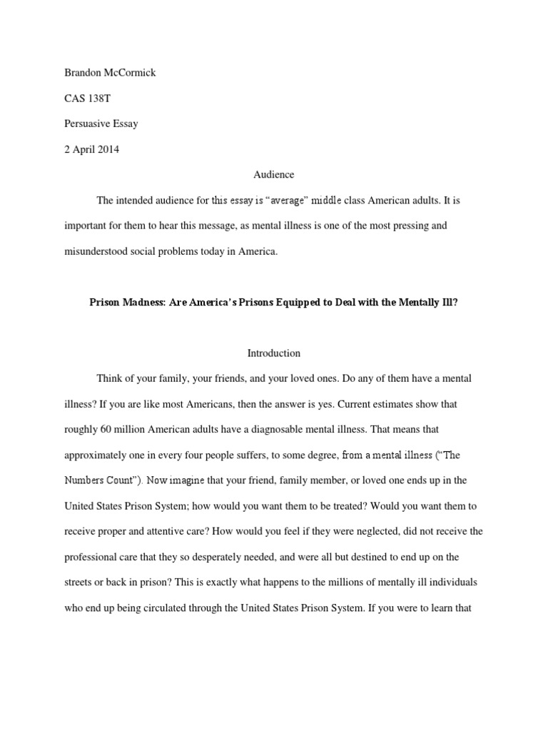 rcl persuasive essay prison prisoner