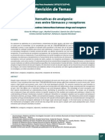 Alternativas de Analgesia, Interacciones Entre Farmaco y Receptor
