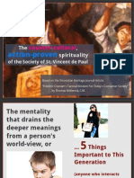 The counter-cultural, action-proven spirituality of the Society of St. Vincent de Paul