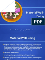 Child Material Well-being