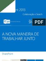 Apresentação SharePoint 2013 - Colaboração e Search.pdf