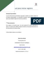 Manual Para Iniciar Registro V1