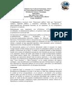 Universidad de San Carlos de Guatemala, Ejercicios de Porcentajes