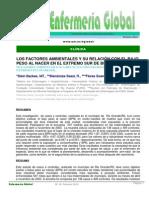 Los Factores Ambientales y Su Relacion Con El Bajo Peso Al Nacer en El Extremo Sur de Brasil.