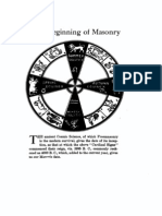 Frank C. Higgins - The Beginning of Masonry