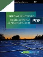 Energias Renováveis - riqueza sustentável ao alcance da sociedade