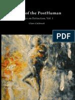Colebrook - Death of Posthuman Vol 1