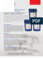 Transimission fluid for Caterpillar TO-4