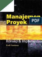Manajemen Proyek ( Konsep Dan Implementasi )