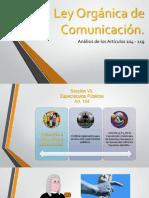 Ley Orgánica de Comunicación