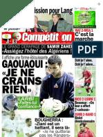 Edition du 01 Novembre 2009