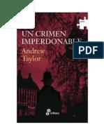 Andrew Taylor - Un Crimen Imperdonable