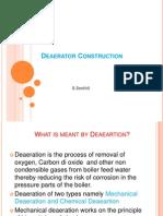 deaerator Construction