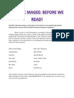 pre-reading activity