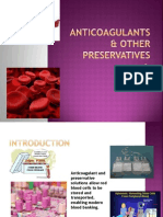 Anticoagulants and Other Preservatives