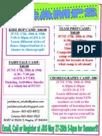 2014 Summer Flyer