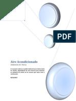 Calculos Aire Acondicionado Cargas Habitacion de Clinica