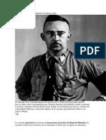 Las Cartas Privadas de Himmler
