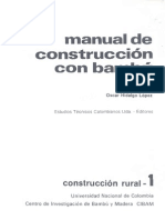 Manual de Construccion Con Bambu
