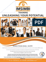 Imsimbi Schedule of Courses January 