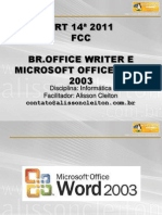 Br - Office Write e Microsoft Office Word 2003