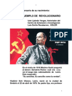 LENIN UN  EJEMPLO DE  REVOLUCIONARIO