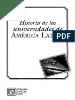 Historia de Las Universidades de America Latina