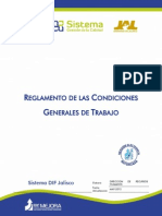 Reglamento de Las Condiciones Generales de Trabajo