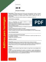Norma Aditivos Para Hormigon Ht 20 m Nueva