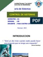 11 Control de Sistemas