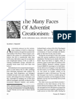 The Many Faces of Adventist Creationism