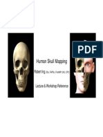 Human Skull Mapping Reference