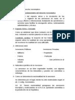 Cuestionario de Derecho Aeronáutico