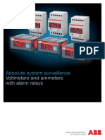Ammeter With Alarm