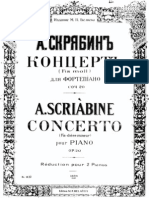 A . Scriabin - Piano Concerto No.1 Op.20