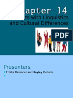 Students with Linguistics and Other Cultural Needs