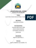 Auditoría Financiera Interna y Gubernamental