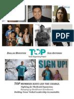 2013 - 2014 TOP Healthcare Campaign Report