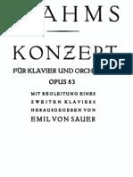 Brahms - Piano Concerto Nr.2 B-Dur